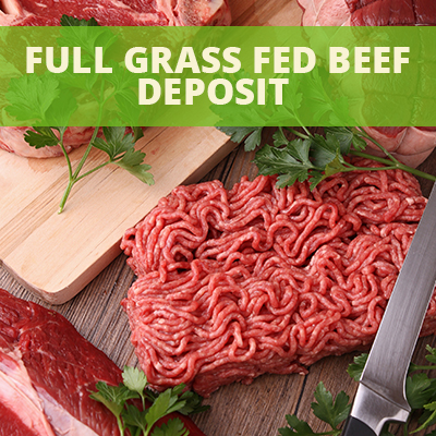Dierks Farms Full Grass Fed Beef