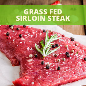 Grass Fed Sirloin Steak