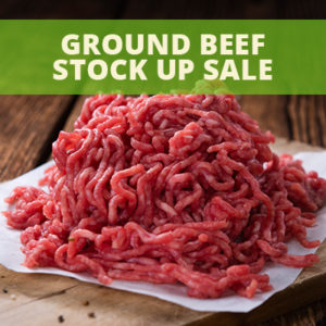 All Natural American Ground Beef